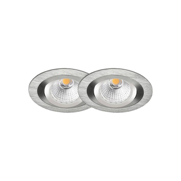 LED Einbauleuchten Set 2er