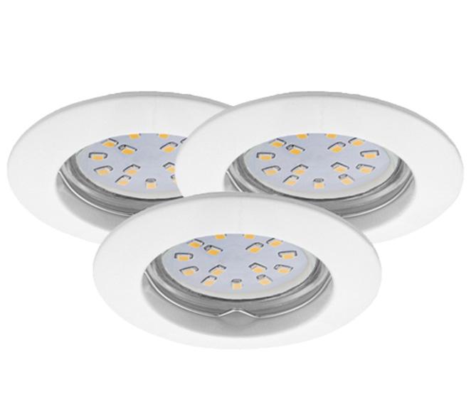 LED Einbauleuchten Set 3er