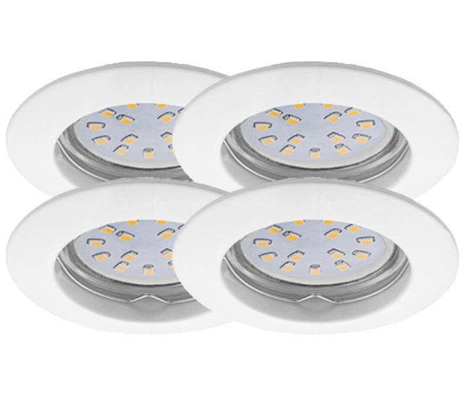 LED Einbauleuchten Set 4er