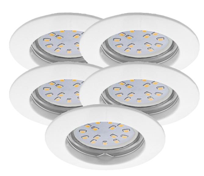 LED Einbauleuchten Set 5er