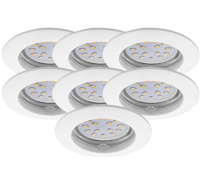 LED Einbauleuchten Set 7er